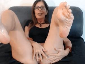 Imagen Milf se Graba Tocándose para Casting Porno