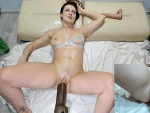 Image Realiza Sexo Duro con una Polla Automática