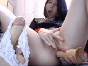 Imagen Sofía demuestra su Talento Sexual en la Webcam