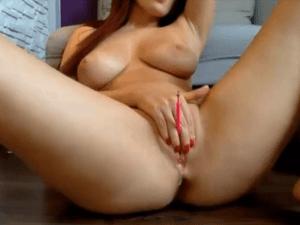 Graciela Hace su Primer Show Erótico de Cam