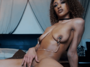 Image Chica Mulata Desnuda se Masturba en la Cam
