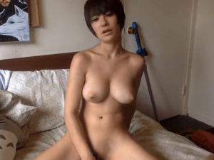Imagen Casting de Pornografía de Tímida Camgirl en Primera Sesión Online