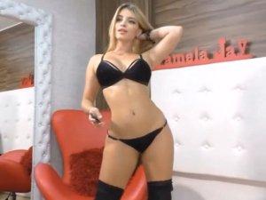Image Belleza Erótica en Videochat Súper Sensual con Lencería Negra