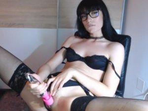 Image Follada en Vivo para una Entrevista de Trabajo por Webcam
